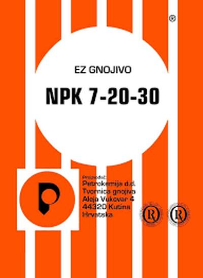 NPK 7-20-30 25kg KUTINA