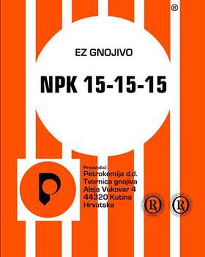 NPK 15-15-15 +3S 25kg KUTINA