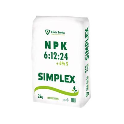NPK 6-12-24 +6S 25kg ELIXIR
