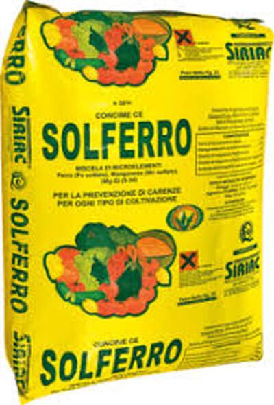 SOLFERRO 12% 25kg ZRNOKEM